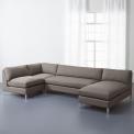 Cielo II-4 piece sectional sofa