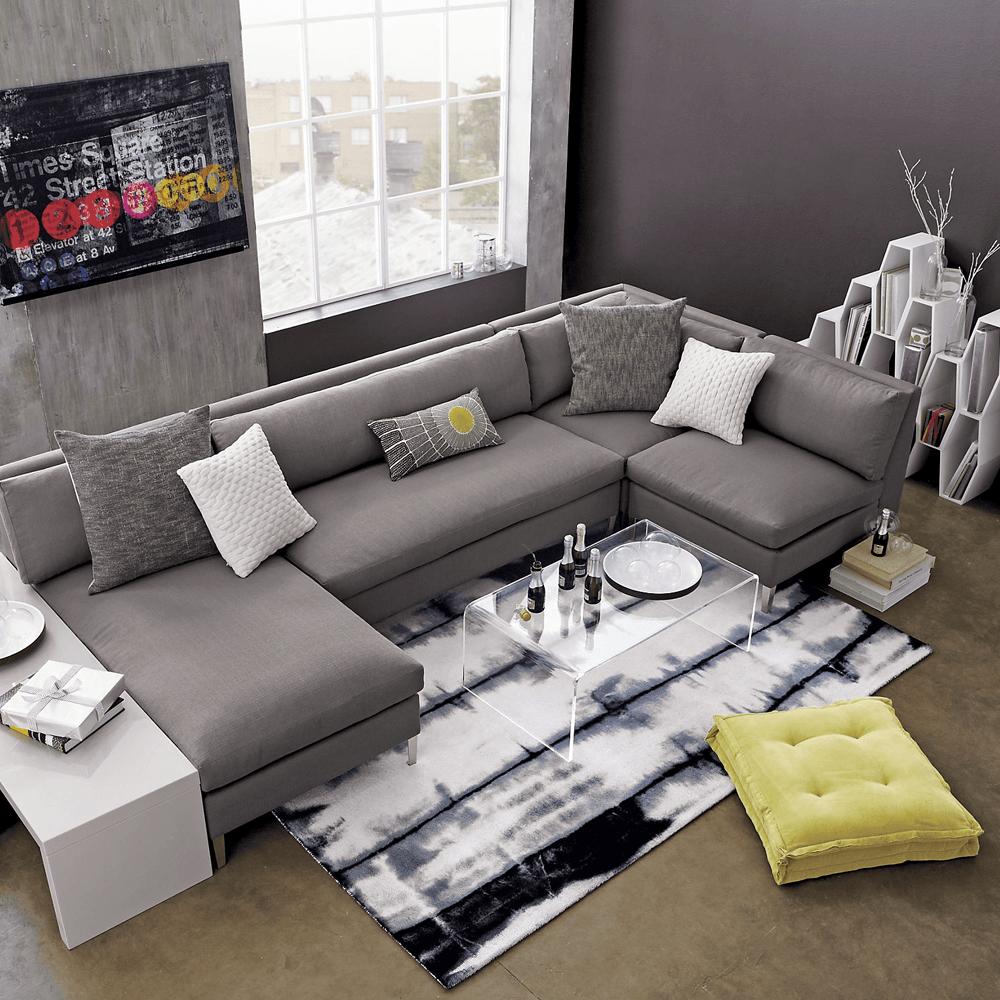 Cielo Ii 4 Piece Sectional Sofa Furniture # Meuble Tv Xelo