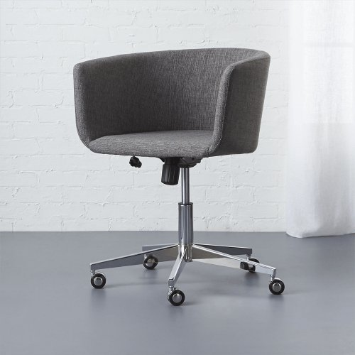Coup grey office chair